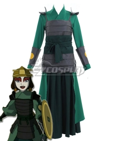 Avatar: The Last Airbender Kyoshi Warriors Suki Cosplay Costume