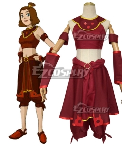 Avatar: The Last Airbender Suki Cosplay Costume