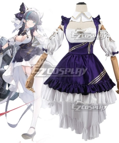 Azur Lane HMS Hermione Pure White Nurse Cosplay Costume