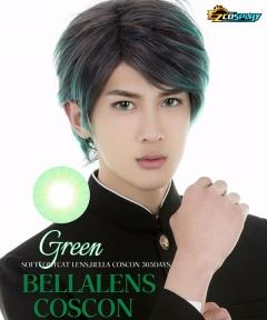 Bella Eye Coscon Clear Lens Izuku Midoriya Deku Monica Green Cosplay Contact Lense