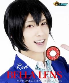 Bella Eye Coscon Jade 2tone Katsuki Bakugou Benimaru Red Cosplay Contact Lense