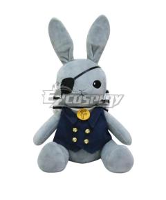 Black Butler Kuroshitsuji Ciel Phantomhive Rabbit Bunny Puppet Cosplay Accessory Prop