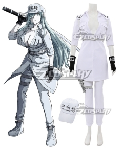 Cells At Work Code Black Neutrophil U-1196 Cosplay Costume