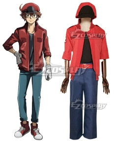 Cells At Work Code Red Cell Cosplay Costume