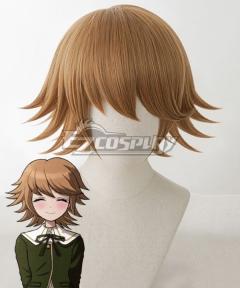 Danganronpa: Trigger Happy Havoc Chihiro Fujisaki Brown Cosplay Wig