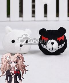 Danganronpa: Trigger Happy Havoc Junko Enoshima Bear Headwear Hair clip Cosplay Accessory Prop