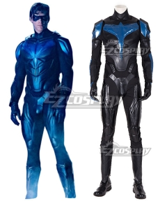 DC Titans season 2 Nightwing Cosplay Costume