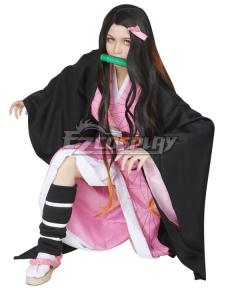 Demon Slayer: Kimetsu No Yaiba Nezuko Kamado Cosplay Costume
