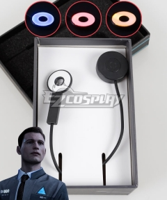 Detroit: Become Human Connor Kara Temple LED Light Cosplay Accessory Prop - Not include button cell