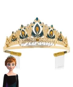 Disney Frozen 2 Anna Queen New Coronation Crown Cosplay Accessory Prop