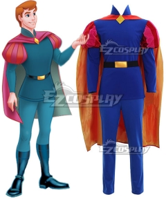 Disney Sleeping Beauty Prince Phillip Cosplay Costume - B Edition