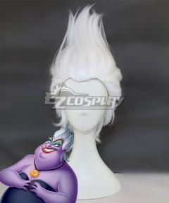 Disney The Little Mermaid Ursula White Cosplay Wig