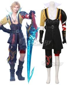 Dissidia Final Fantasy NT Final Fantasy X Tidus Cosplay Costume