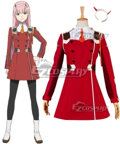 Darling in the Franxx Zero Two Code 002 Cosplay Costume - New Edition