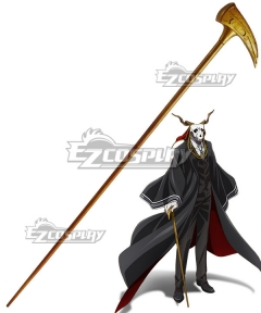 The Ancient Magus' Bride Mahoutsukai no Yome Ellias Ainsworth Staff Cosplay Weapon Prop