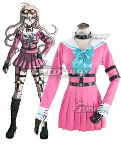 Danganronpa Dangan Ronpa V3: Killing Harmony Miu Iruma Cosplay Costume - No Goggles