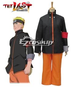 Naruto The Last  Naruto The Movie Uzumaki Naruto Cosplay Costume