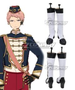 Ensemble Stars Shu Itsuki White Shoes Cosplay Boots