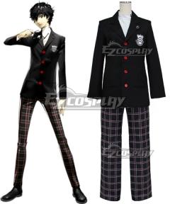 Persona 5 Protagonist Akira Kurusu Ren Amamiya Cosplay Costume - New Edition