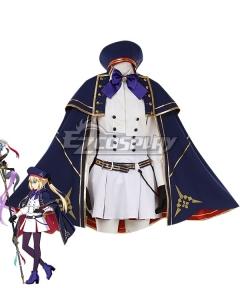 Fate Grand Order FGO Caster Artoria Pendragon Stage 2 Cosplay Costume
