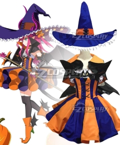Fate Grand Order FGO Elizabeth Bathory Halloween Cosplay Costume