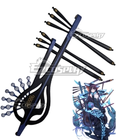 Demon Slayer: Kimetsu No Yaiba Genya Shinazugawa Knife Cosplay Weapon Prop