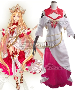 Fate Grand Order Rider Europa Cosplay Costume