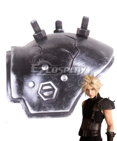 Final Fantasy VII FF7 Remake Cloud Strife Pauldrons Cosplay Accessory Prop