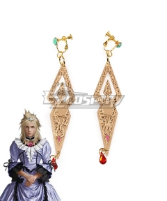 Final Fantasy VII Remake Cloud Strife Girl Earring Cosplay Accessory Prop