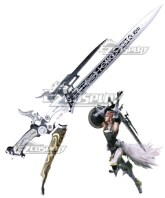 Final Fantasy XIII-2 FF13-2 Lightning Cosplay Weapon Prop