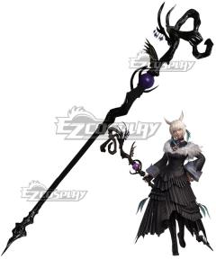 Final Fantasy XIV Shadowbringers 5.0 FF14 Y'shtola Rhul Yshtola Cosplay Weapon Prop