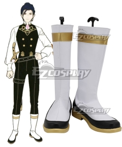 Fire Emblem Three Houses Felix White Shoes Cosplay Boots