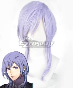 Fire Emblem: Three Houses indered Shadows Yuri Time Skip Purple Cosplay Wig