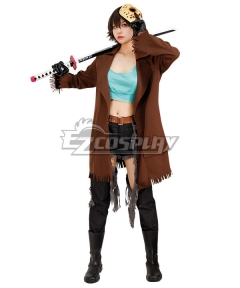 Friday the 13th Jason Voorhees Female Halloween Cosplay Costume