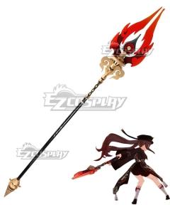 Genshin Impact Hu Tao Cosplay Weapon Prop