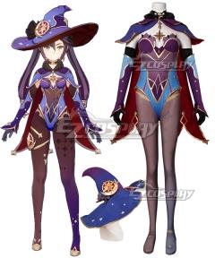 Genshin Impact Mona Cosplay Costume Premium Edition