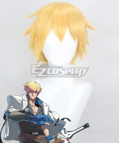 Guilty Gear STRIVE Ky Kiske  Golden Cosplay Wig