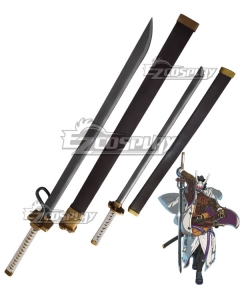 Guilty Gear STRIVE Nagoriyuki Knife Cosplay Weapon Prop