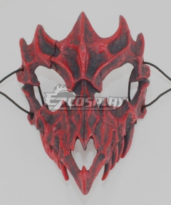 Halloween Teeth Yasha Mask H Cosplay Accessory Prop