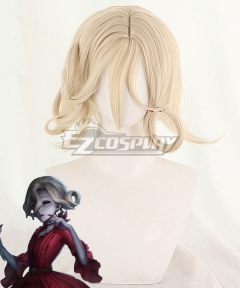 Identity V Bloody Queen Mary Halloween Golden Cosplay Wig