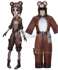 Identity V Mechanic Tracy Reznik Bear Girl Halloween Cosplay Costume