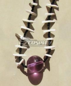 Inuyasha Shikon no Tama Necklace Purple Cosplay Accessory Prop