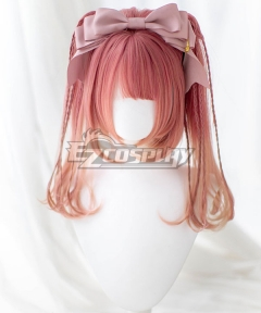 Japan Harajuku Lolita Series Little Witch Red Cosplay Wig - Not Included Headwear