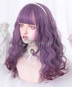 Japan Harajuku Lolita Series Purple Cosplay Wig