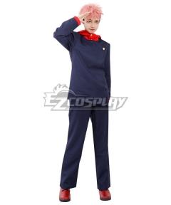 Jujutsu Kaisen Sorcery Fight Yuji Itadori Anime Ver.Deep Blue Cosplay Costume
