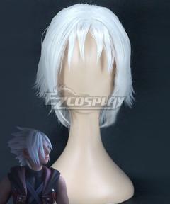 Kingdom Hearts III Young Xehanort Silver Cosplay Wig