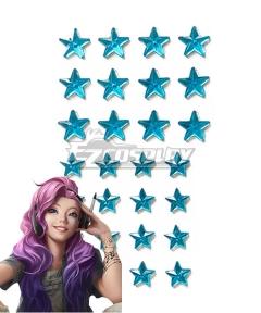 League of Legend LOL Seraphine KDA K/DA Star Cosplay Accessory Prop