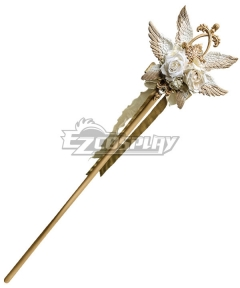 Lolita Series Halloween Magic Wand East of the Sun West of the Moon Staff Cosplay Weapon Prop
