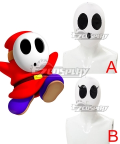 Mario Kart 8 Shy Guy Mask Cosplay Accessory Prop