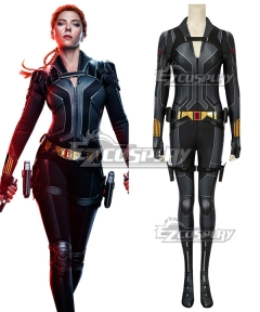 Marvel 2020 Movie Black Widow Natasha Romanoff Zentai Jumpsuit Cosplay Costume Black Edition